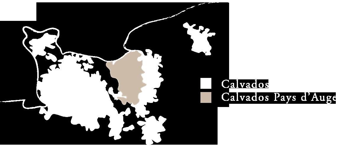 Carte Calvados Terroir Pere Magloire