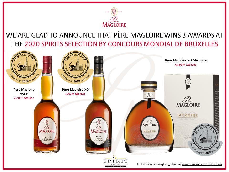 Pere Magloire Medailles Concours Bruxelles